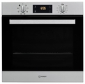 Indesit 60cm Fan Assisted Electric Single Oven - IFW6340IXUK