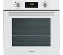 Indesit 60cm Fan Assisted Electric Single Oven - IFW6340WHUK