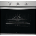 Indesit 60cm Fan Assisted Electric Single Oven - KFW3543HIXUK