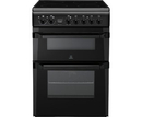 Indesit 60cm Double Oven Electric Cooker - ID60C2AS (Advance)