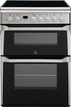 Indesit 60cm Double Oven Electric Cooker - ID60C2XS (Advance)
