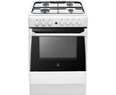 Indesit 60cm Single Cavity Gas Cooker - IS60G1W