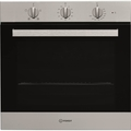 Indesit 60cm Multifunction Electric Single Oven - IFW65Y0IX