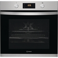 Indesit 60cm Multifunction Electric Single Oven - KFW3841JHIX