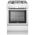 Indesit 60cm Single Cavity Gas Cooker - I6GG1W