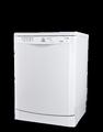 Indesit 60cm White Fullsize Dishwasher - DFG15B1