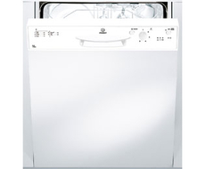 Indesit 60cm White Semi Integrated Dishwasher - DPG15WHR
