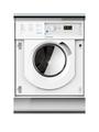 Indesit 7+5kg, 1200 Spin Integrated Washer Dryer - BIWDIL7125
