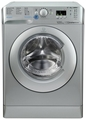 Indesit 8kg 1400 Spin Washing Machine - BWA81483XSUK