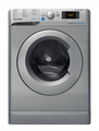 Indesit 8+6kg, 1400 Spin Washer Dryer - BDE861483XS