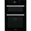Indesit 90cm Built In Electric Double Oven - IDD6340BL