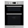 Indesit 90cm Built In Electric Double Oven - IDD6340IX
