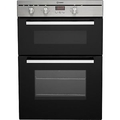 Indesit 90cm Fan Assisted Electric Double Oven - FIMD13IXS