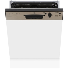 Indesit 13PL Semi Integrated Dishwasher - DPG15B1NX