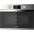 Indesit 45.5cm 900W Built In Microwave And Grill - MWI3443IX
