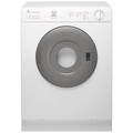 Indesit 4kg White/Grey Vented Compact Dryer - IS41V