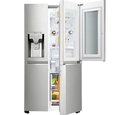 LG Instaview Door-In-Door GSX961NSVZ American Style Fridge Freezer Premium Steel
