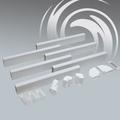 Luxair 6 Metre Cooker Hood Ducting Kit - LA150-6m