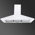 Luxair 60cm Chimney Hood - LA-60-STD-WHT