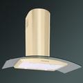 Luxair 60cm Glass Chimney Hood - LA-60-CVD-GL-IV