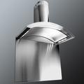 Luxair 90cm Glass Chimney Hood - LA-90-CRESTA-SS