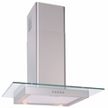 Luxair 90cm Straight Glass Hood - LA-90-ST-GL