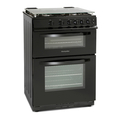 Montpellier 60cm Double Oven Gas Cooker - MDG600LK