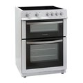 Montpellier 60cm Double Oven Ceramic Cooker - MDC600FW