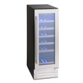 Montpellier 16 Bottle Single Zone Wine Cooler - WS19SDX
