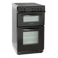 Montpellier 50cm Double Oven Electric Cooker - MDC500FK