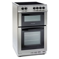Montpellier 50cm Double Oven Electric Cooker - MDC500FS