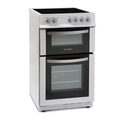Montpellier 50cm Double Oven Electric Cooker - MDC500FW