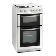 Montpellier 50cm Freestanding Gas Double Oven - MDG500LW