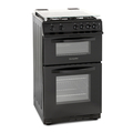Montpellier 50cm Double Oven Gas Cooker - MDG500LK