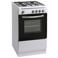 Montpellier 50cm Single Cavity Gas Cooker - MSG50W