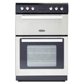 Montpellier 60cm Double Oven Electric Cooker - RMC61CX