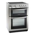 Montpellier 60cm Double Oven Ceramic Cooker - MDC600FS