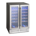 Montpellier 38 Bottle Dual Zone Wine Cooler - WS38SDDX
