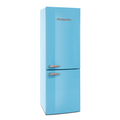 Montpellier 60cm Frost Free Retro Fridge Freezer - MAB385PB