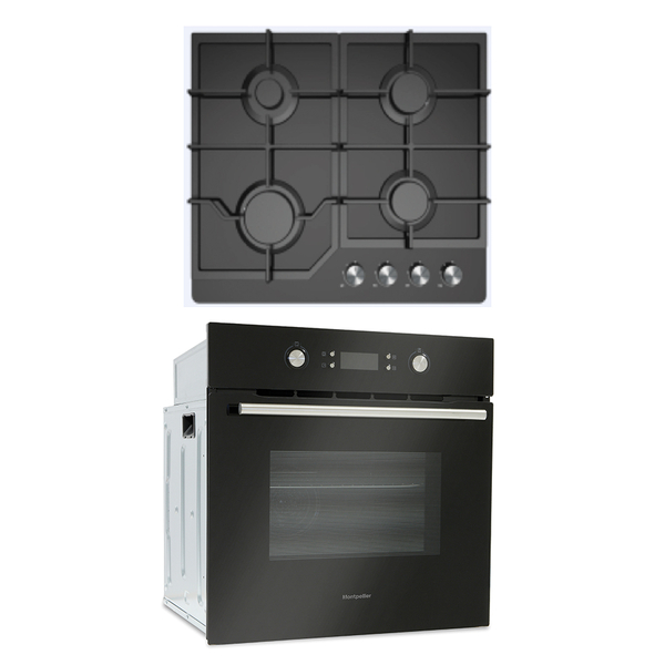 Montpellier 60cm Oven And Hob Pack Sfop94mfgg West