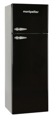 Montpellier 60cm Static Retro Fridge Freezer - MAB345K