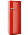 Montpellier 60cm Top Mount Retro Fridge Freezer - MAB345R (RED)