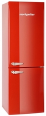 Montpellier 60cm Upright Retro Fridge Freezer - MAB365R