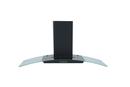 Montpellier 90cm Glass Chimney Hood - CHG913MB-EDGE
