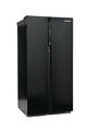 Montpellier American Side-By-Side Fridge Freezer - M510BK