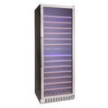 Montpellier 181 Bottle Dual Zone Wine Cooler - WS181SDX