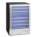 Montpellier 46 Bottle Dual Zone Wine Cooler - WS46SDX