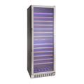 Montpellier 166 Bottle Dual Zone Wine Cooler - WS166SDX