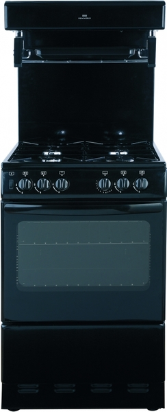 New World 55cm Eye Level Gas Cooker 55thlgblk West