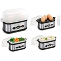 Princess Electric Egg Cooker Boiler Mini Steamer - 262008
